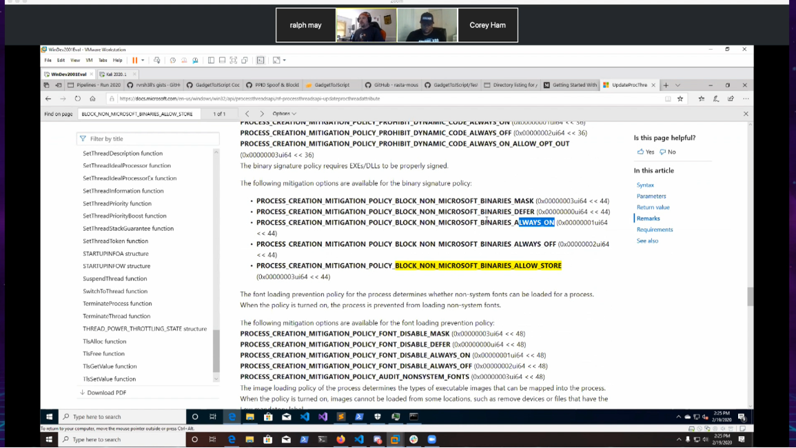 Building with Azure Devops, Gadget to jscript – 2020-02-19